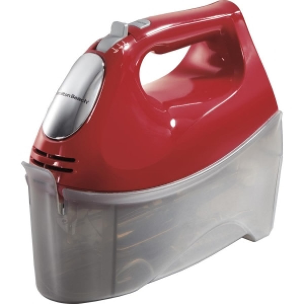 Hamilton Beach Hand Mixer with Snap-On Case (62633R)