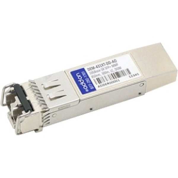 AddOn D-Link DEM-431XT-DD Compatible TAA Compliant 10GBase-SR SFP+ Transceiver (MMF, 850nm, 300m, LC, DOM)
