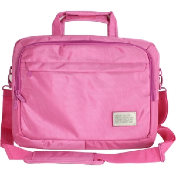 "Digital Treasures ToteIt! Deluxe Carrying Case for 15"" Notebook - Pink"