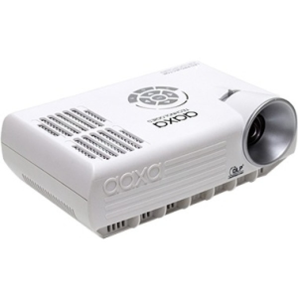 AAXA M4 Mobile LED Projector 800 Lumens, TV Tuner, Rechargeable 90Minute Li-Ion Battery, VGA, HDMI