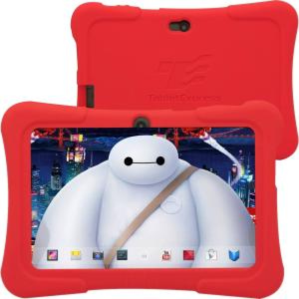 "Tablet Express Dragon Touch 7"" Android Kids Tablet - Red"