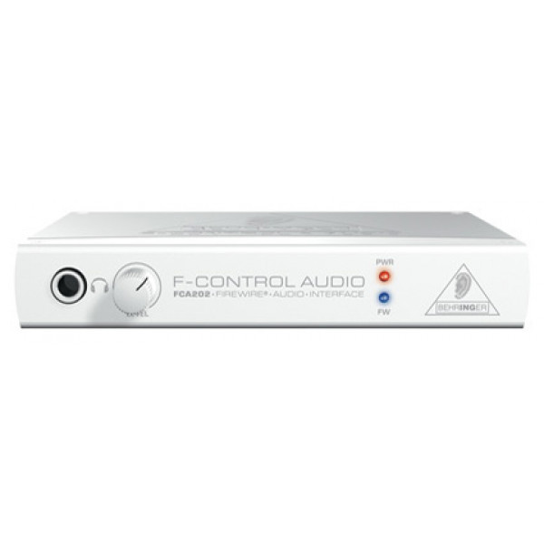 BEHRINGER F-CONTOL AUDIO FCA202 FireWire Audio Interface