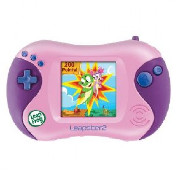 Leap Frog Leapster2 Learning Game System - Pink