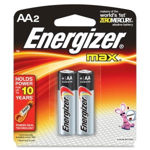 Energizer E91BP-2 AA Size Alkaline General Purpose Battery