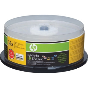 Imation 02051 DVD Recordable Media - DVD+R - 16x - 4.70 GB - 25 Pack Spindle