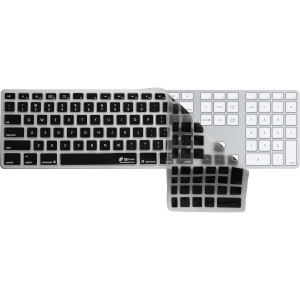 KB Covers Checkerboard (Clear w/ Black Buttons) Keyboard Cover