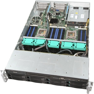 Intel Server System R2312GZ4GC4 Barebone System - 2U Rack-mountable - Socket R LGA-2011 - 2 x Processor Support