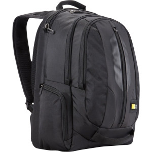 "Case Logic RBP-217BLACK Carrying Case (Backpack) for 17.3"" Notebook, Accessories, Tablet PC, iPad, iPod, Smartphone - Black"