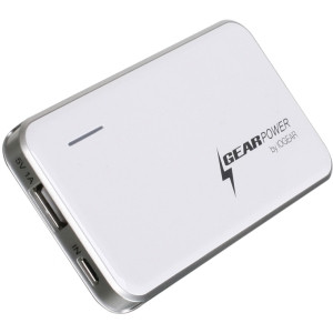 Iogear GearPower 2400mAh Capacity Mobile Power Station for Smartphones and USB Devices