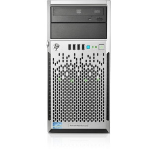 HP ProLiant ML310e G8 4U Micro Tower Server - 1 x Intel Xeon E3-1220 v3 Quad-core (4 Core) 3.10 GHz