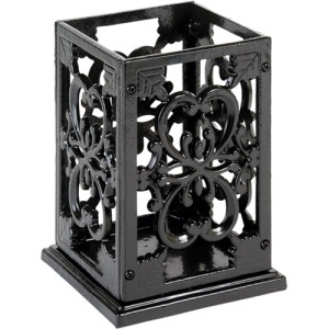 Anchor Cast Iron Utensil Holder / Black