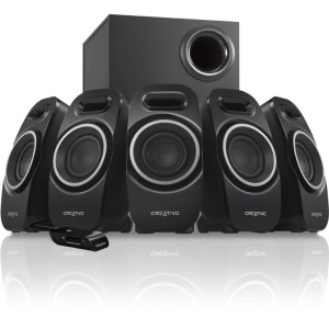 Creative A Series A550 5.1 Speaker System - Black
