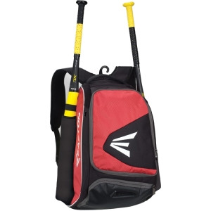 Easton E200P Carrying Case (Backpack) for Baseball, Bat, Accessories - Black