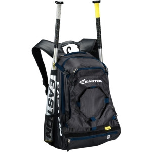 Easton Baseball Walk Off II Carrying Case (Backpack) for Bat - Navy
