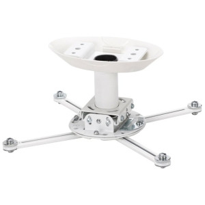 """Telehook Projector ceiling mount kit with 3"""" pole and ceiling plate"""