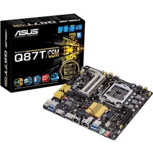 Asus Q87T/CSM Desktop Motherboard - Intel Q87 Express Chipset - Socket H3 LGA-1150