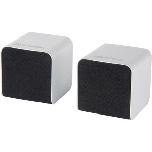 Manhattan Lyric Duo Wireless Stereo Speakers with Bluetooth Technology