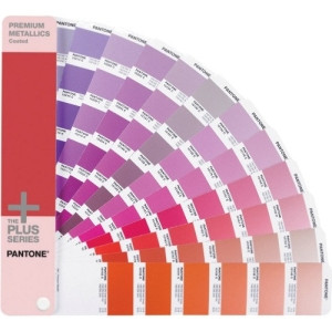Pantone PREMIUM METALLICS Coated Reference Printed Manual