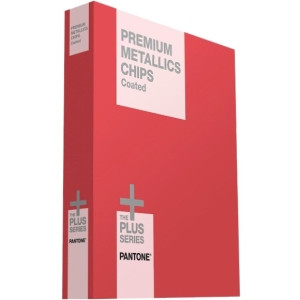 Pantone PREMIUM METALLICS CHIPS Coated Reference Printed Manual