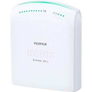 Fujifilm Dye Sublimation Printer - Color - Photo Print - Portable - White