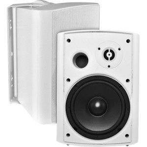 OSD Audio AP650 150 W RMS Outdoor Speaker - 2 Pack - White