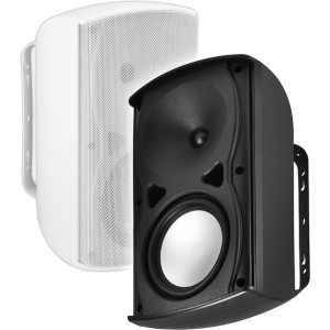 OSD Audio AP670 120 W RMS Outdoor Speaker - 2 Pack - Black