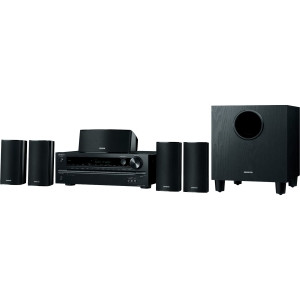 Onkyo HT-S3700 5.1 3D Ready Home Theater System - 660 W RMS - A/V Receiver - Black