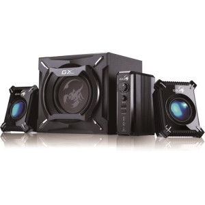 Genius GX Gaming SW-G2.1 2000 2.1 Speaker System - 45 W RMS - Wall Mountable - Black