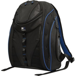 """SUMO Express Carrying Case (Backpack) for 17"""" MacBook, Notebook - Black, Royal Blue"""