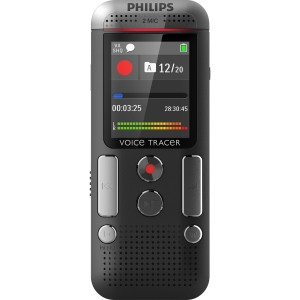 Philips Digital Recorder with 2Mic Stereo Recording