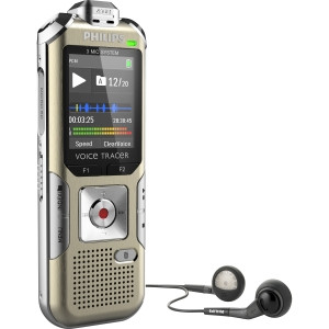Philips Voice Tracer Digital Recorder Music Recording