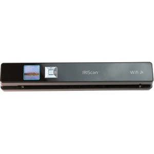 I.R.I.S. IRIScan Anywhere 3 Wifi Cordless Sheetfed Scanner - 1200 dpi Optical