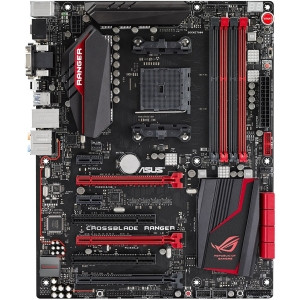 ROG Crossblade Ranger Desktop Motherboard - AMD A88X Chipset - Socket FM2+