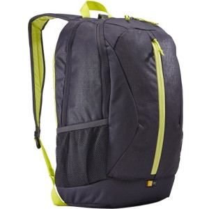 """Case Logic Ibira IBIR-115 Carrying Case (Backpack) for 16"""" Notebook, Tablet, iPad - Gray, Anthracite"""