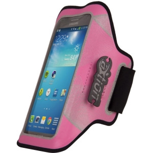 The Joy Factory aXtion Night Run DWX106 Carrying Case (Armband) for iPhone, Smartphone - Pink