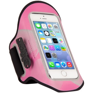 The Joy Factory aXtion Night Run DWX105 Carrying Case (Armband) for iPhone, Smartphone - Pink