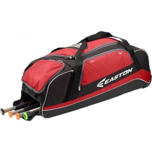 Easton Baseball Carrying Case for Baseball, Sports Equipment, Softball, Shoes, Accessories - Red