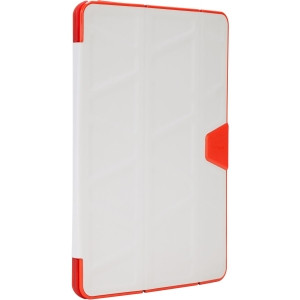 Targus 3D Protection THZ52201US Carrying Case for iPad Air 2 - Light Gray, Red
