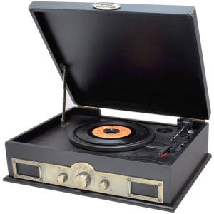 Pyle PTT30BK Record Turntable