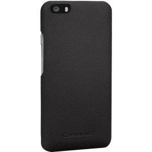 Gresso iPhone 5/5S Classic Black Snap-On Case - Albion Collection