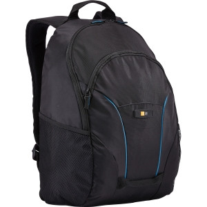 """Case Logic Cadence BPCB-115 Carrying Case (Backpack) for 16"""" Notebook, iPad, Tablet - Black"""