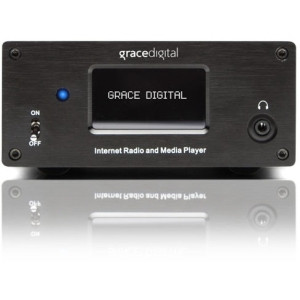 Grace Digital GDI-IRMSamp Internet Radio - Wireless LAN - Black