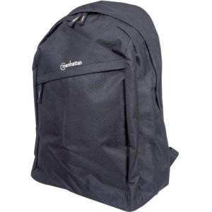"Manhattan Knappack 439831 Carrying Case (Backpack) for 15.6"" Notebook - Black"
