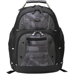 "Targus Drifter TSB834 Carrying Case (Backpack) for 16"" Notebook - Black, Camouflage"