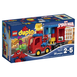 LEGO® Super Heroes 10608 Spider-Man Spider Truck Adventure Building Kit