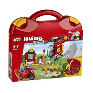 LEGO® JUNIORS Fire Fighting Corps10685 Set Helicopter & Motorcycle