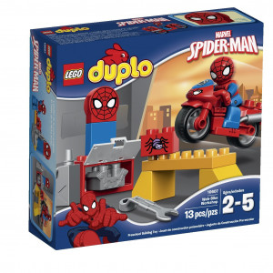LEGO®Super Heroes Spider-Man Web-Bike Workshop Building Kit 10607