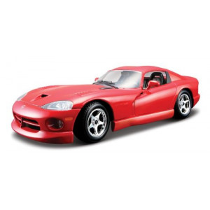 Bburao 18-22048 1:24 Dodge Viper GTS Coupe-Red(Color May Vary)