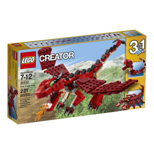 LEGO® Creator 31032 Red Creatures dragon with large movable wings,