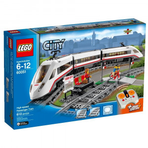 LEGO® City Trains High-speed Passenger Train 60051 Building Toy